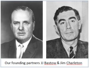 Crowe founding partners Bastow & Charleton