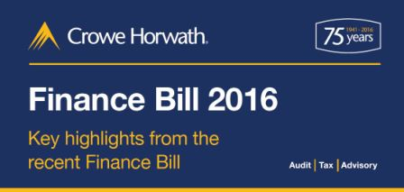 2016 Finance Bill Infographic