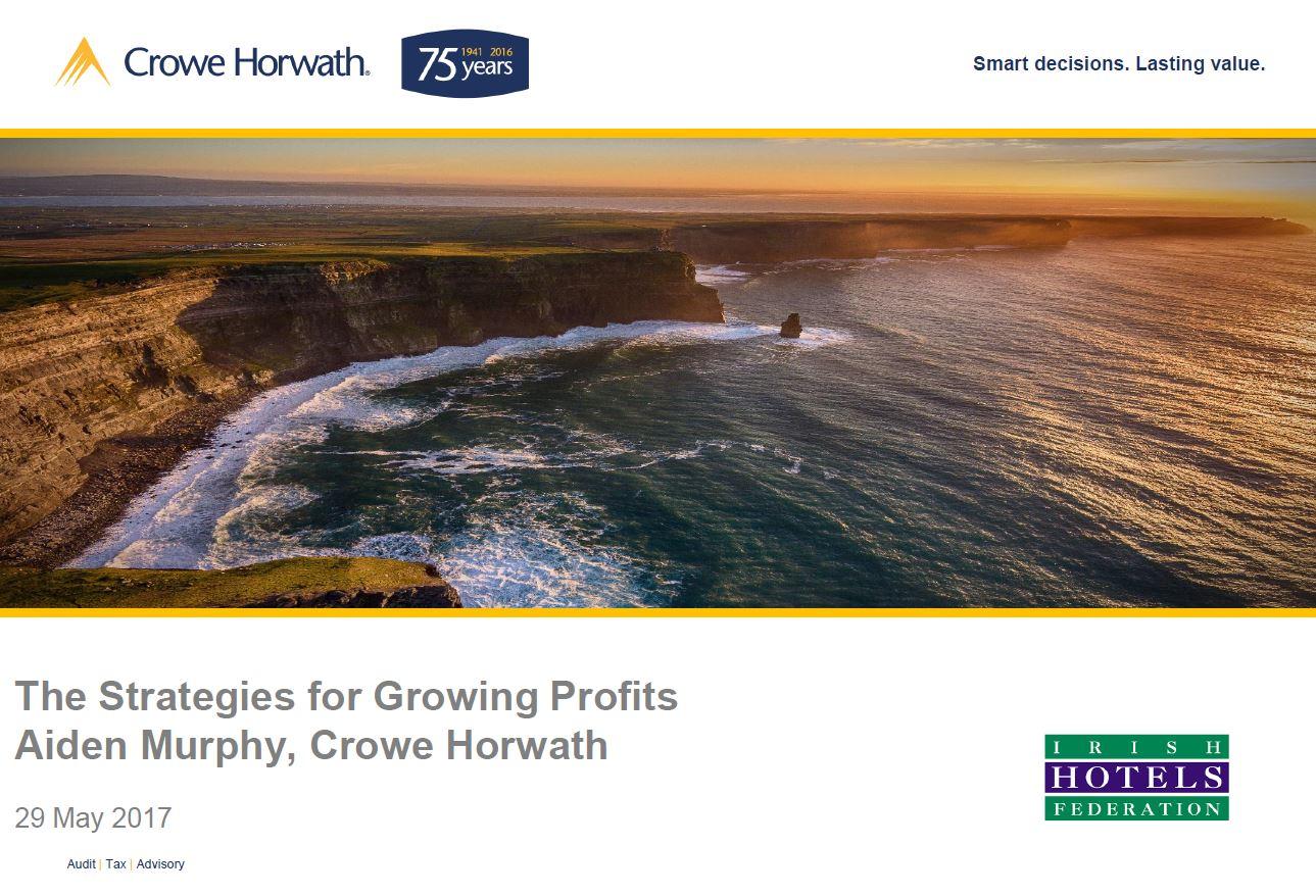 IHF Presentation 2017 - Aiden Murphy - Crowe HOrwath Ireland