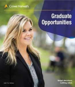 Graduate Recruitment Brochure - Crowe Horwath Ireland