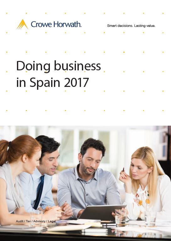 Doing business in Spain - Crowe Horwath Ireland