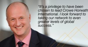 New CEO Crowe Horwath International