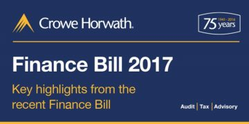 key highlights Finance Bill 2017 - Crowe Horwath Ireland