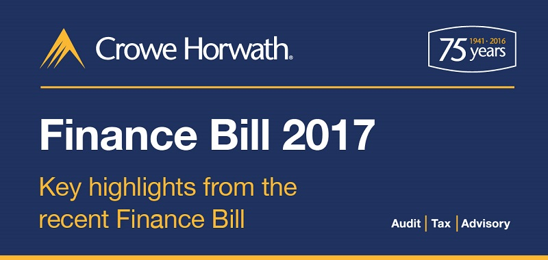 key highlights Finance Bill 2017 - Crowe Horwath Ireland