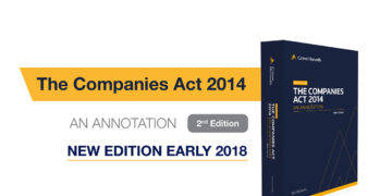 Comapnies Act 2014 An Annotation 2nd Edition - Crowe Horwath Ireland