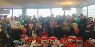 Sipporting Presents for all 2017 depaul campaign - Crowe Horwath Ireland