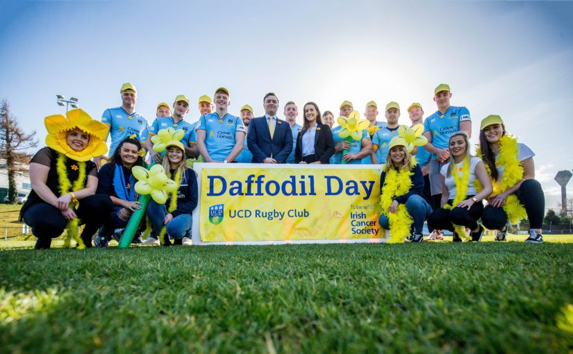 Crowe Horwath and UCD RFC support 2018 Daffodil Day