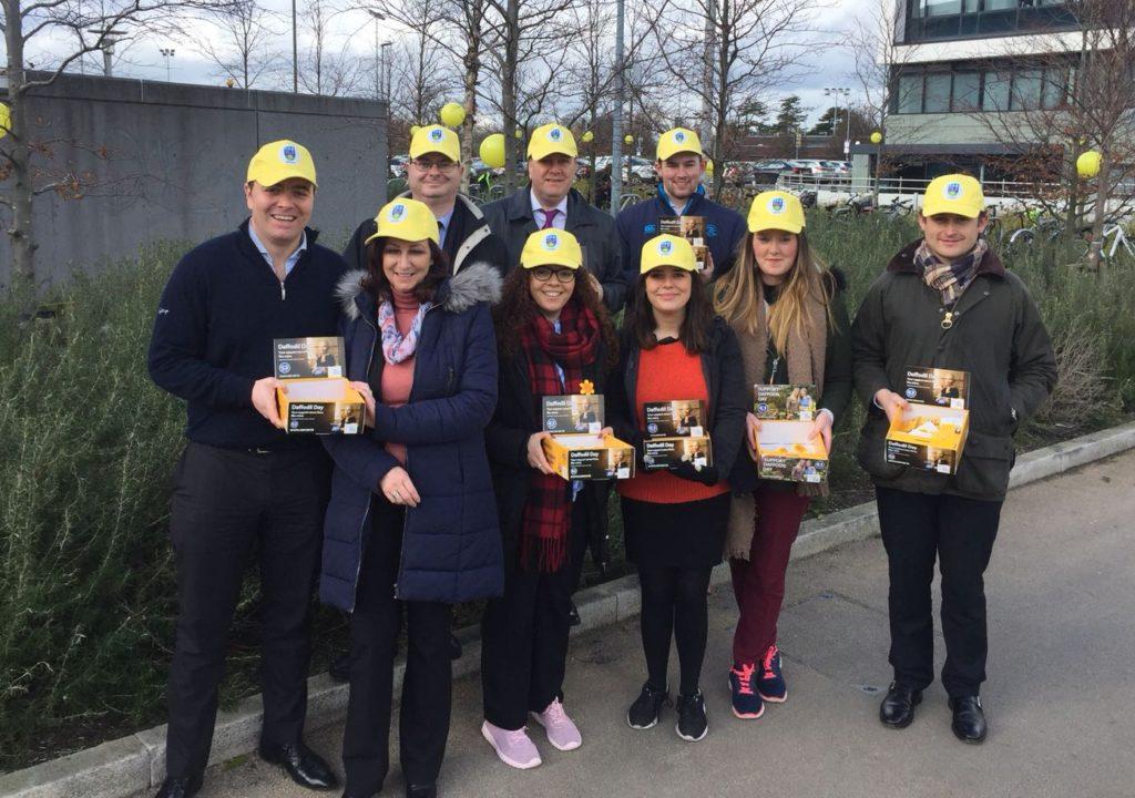 Crowe Horwath 2018 Daffodil fundraising