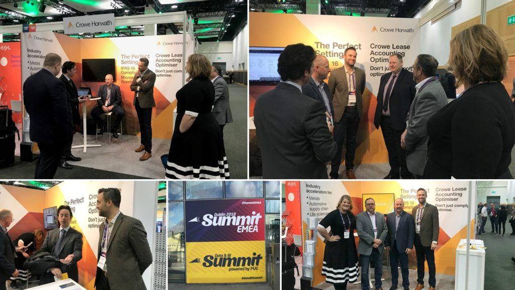 Crowe Horwath sponsors Dublin 2018 Summit EMEA