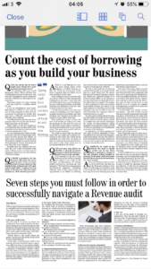 The receipt of a Revenue Audit notification is a stressful event for most taxpayers. However, with careful preparation the worry and cost can be minimised. Our tax partner John Byrne sets out seven steps to consider in preparing for a Revenue Audit - Crowe Horwath Ireland