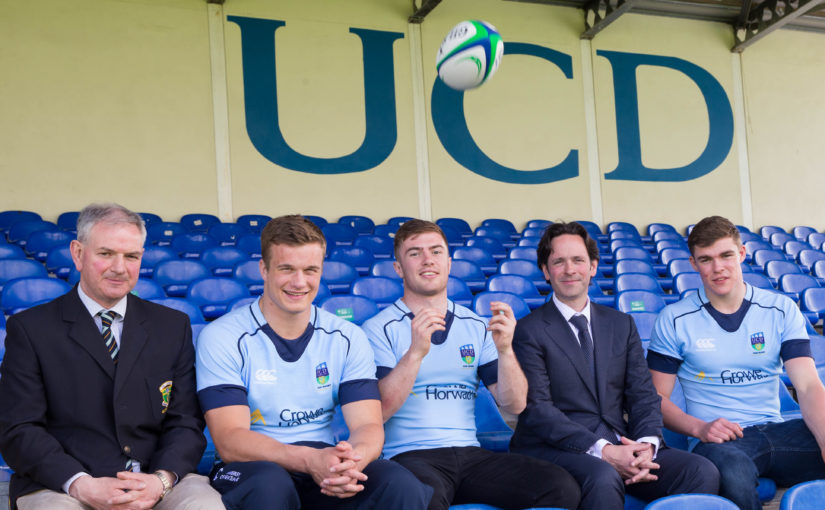Crowe Ireland – proud sponsors of UCD rugby since 2013