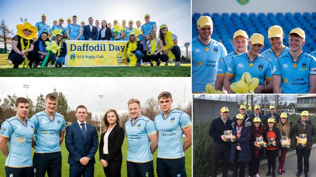 UCD RFC and Crowe Horwath Ireland Fundraising Daffodil Day 2018