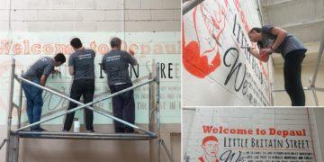 Crowe Ireland staff volunteering for Depaul Charity