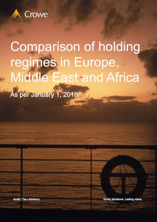 Comparison of holding regimes in Europe, Middle East and Africa - Crowe Ireland