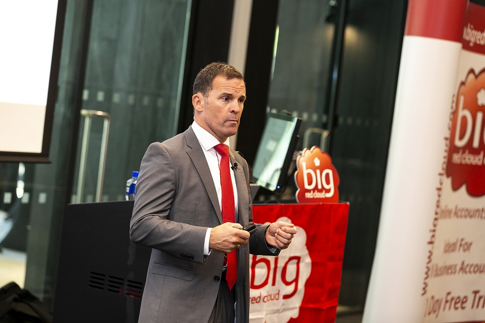Marc O'Dwyer, CEO of Big Red Cloud