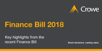 Finance Bill 2018 Highlights - Crowe Ireland