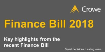 Crowe Ireland Finance Bill 2018 Highlights