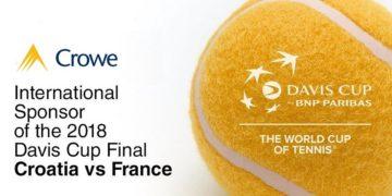 Crowe sponsors 2018 David Cup final