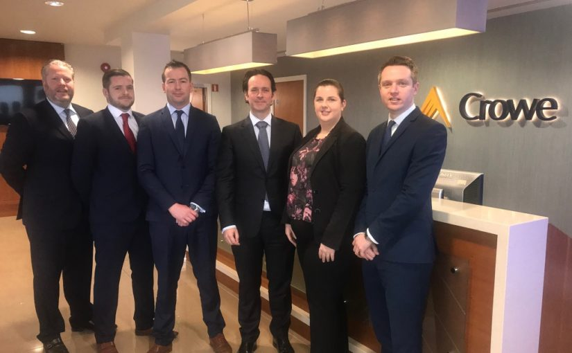 December 2018 promotions at Crowe Ireland