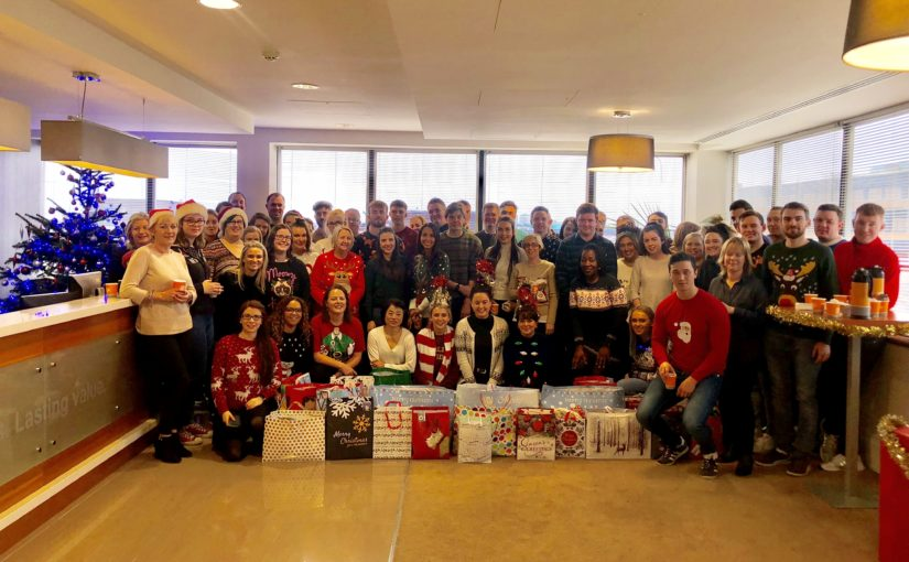 Crowe Ireland staff donate care packages for the homeless in Depaul Christmas appeal