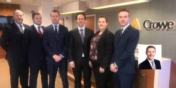 Staff promotions at Crowe Ireland