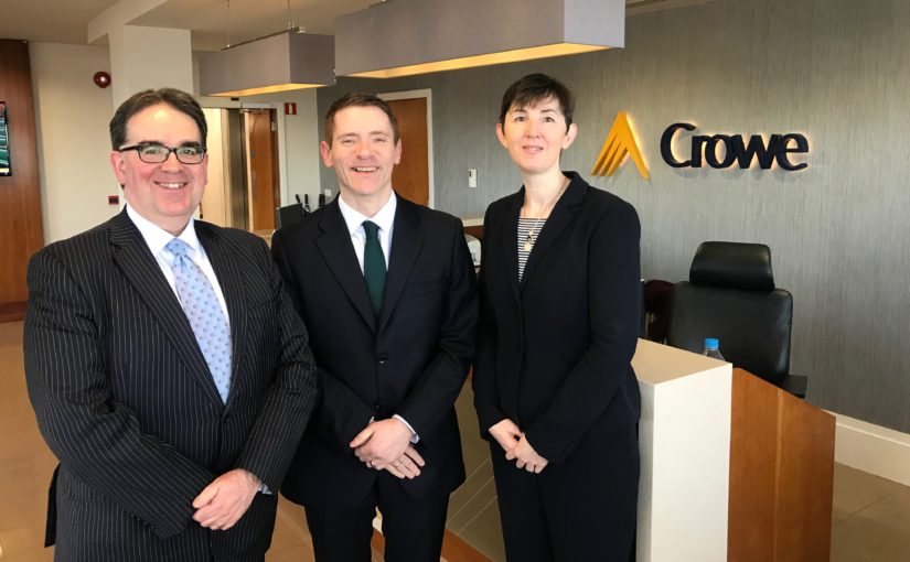 Internal Audit & Risk Consulting promotion - Crowe Ireland