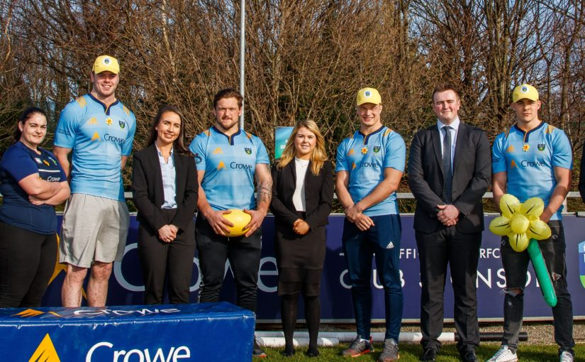 Crowe joins UCD RFC to support Daffodil Day 2019