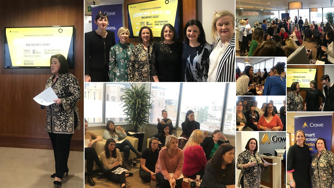 Crowe Ireland staff celebrate International Women's Day