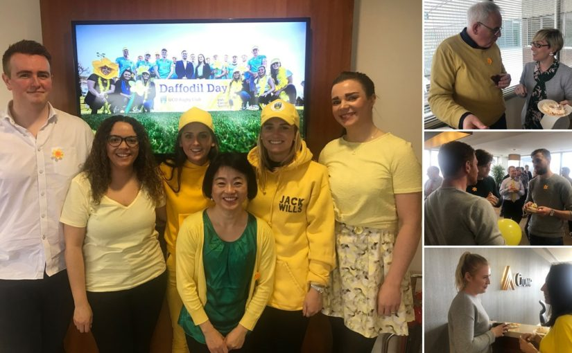 Crowe staff supporting Daffodil Day 2019
