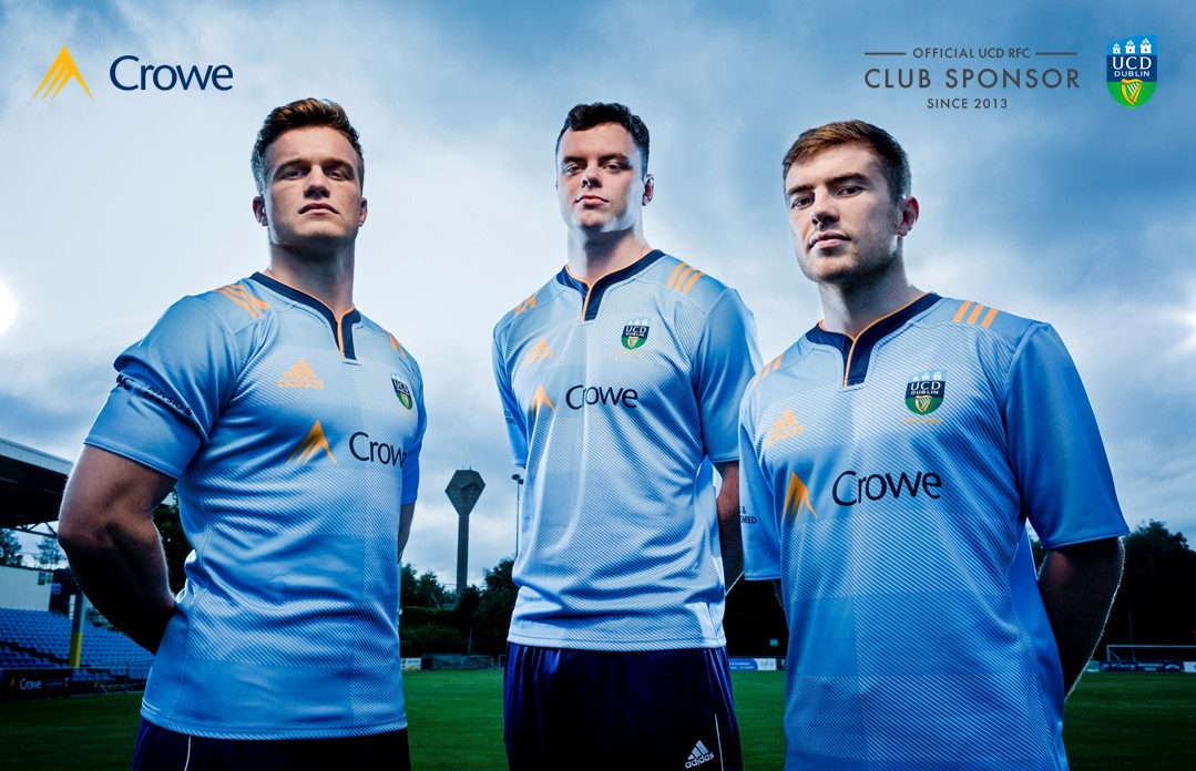 Crowe Ireland - official club sponsors of UCD Rugby