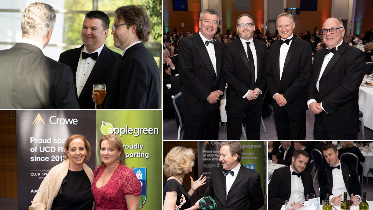 Crowe attends UCD RFC 2019 dinner