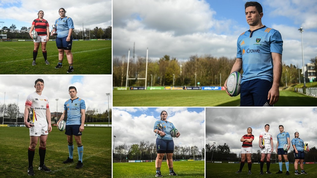 UCD Rugby vs TCD rugby 2019 colours match - Crowe Ireland