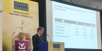 Aiden Murphy speaks at 2019 IHF Hotel Investment Conference - Crowe Ireland