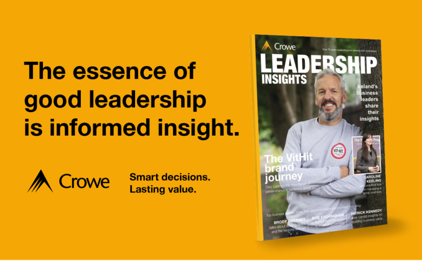 Launch of Leadership Insights - Crowe Ireland