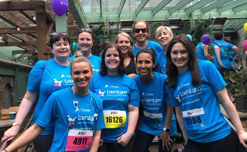 Crowe Ireland staff fundraising for LauraLynn