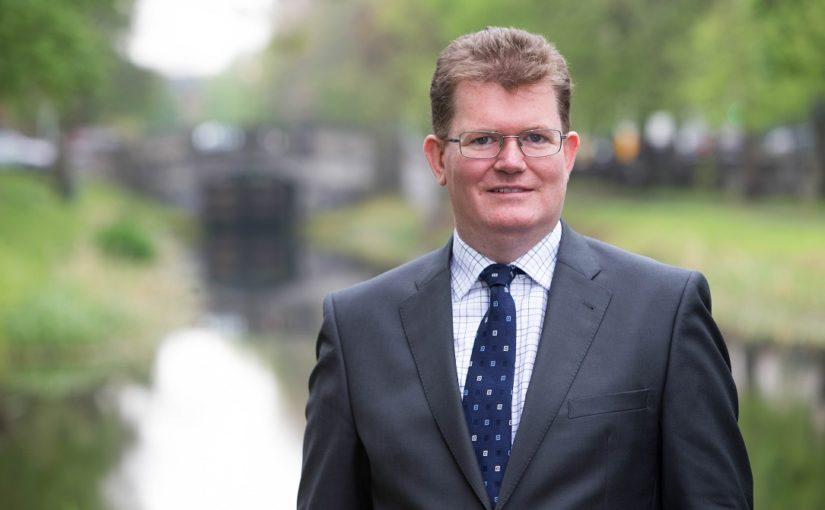 Profile of Aiden Murphy, partner with Crowe Ireland's corporate finance department