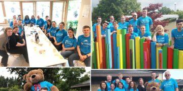 Crowe staff volunteer at LauraLynn – Ireland's Children's Hospice