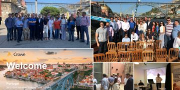 Crowe Global Valuation Seminar in Porto, Portugal