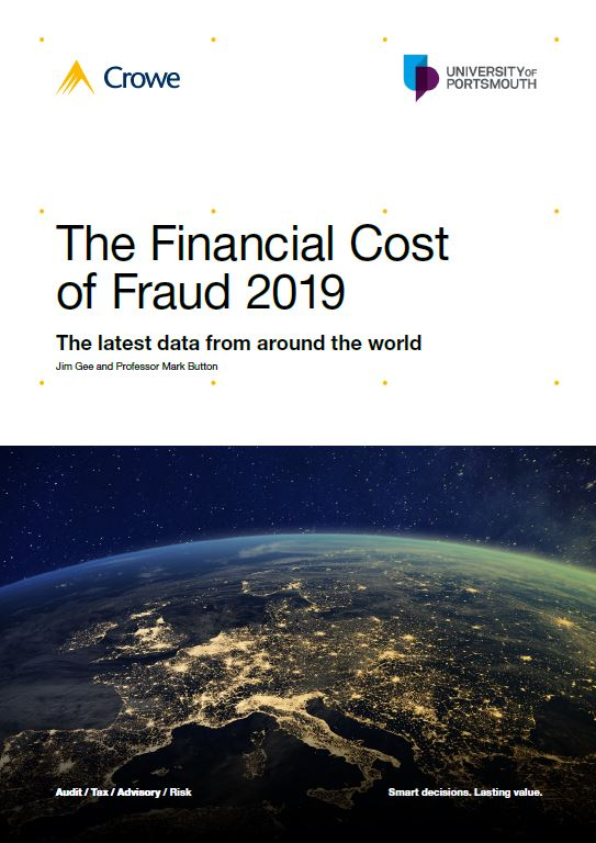 The Financial Cost of Fraud 2019 - Crowe