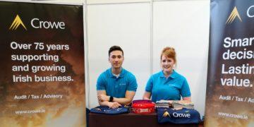Crowe Ireland at UCD Careers fair 2019-20