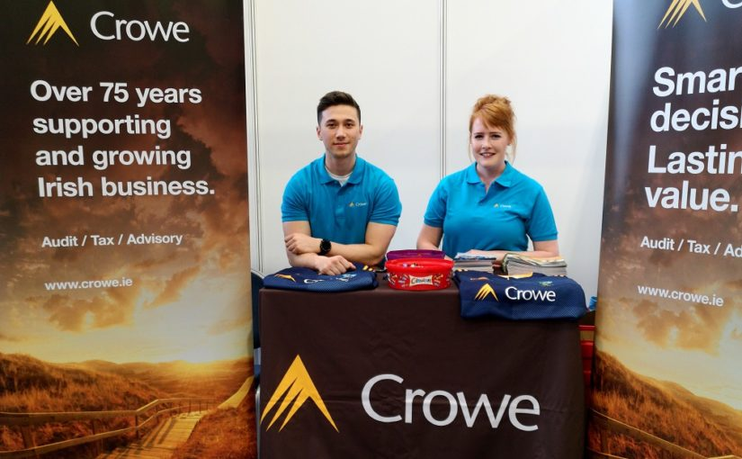 Crowe Ireland at UCD Careers fair 2019-20