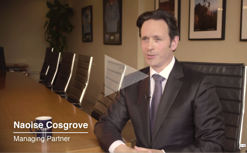Interview with Naoise Cosgrove managing partner Crowe Ireland