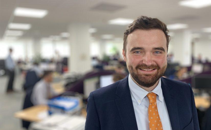 Colm Farrel corporate finance trainee - Crowe Ireland