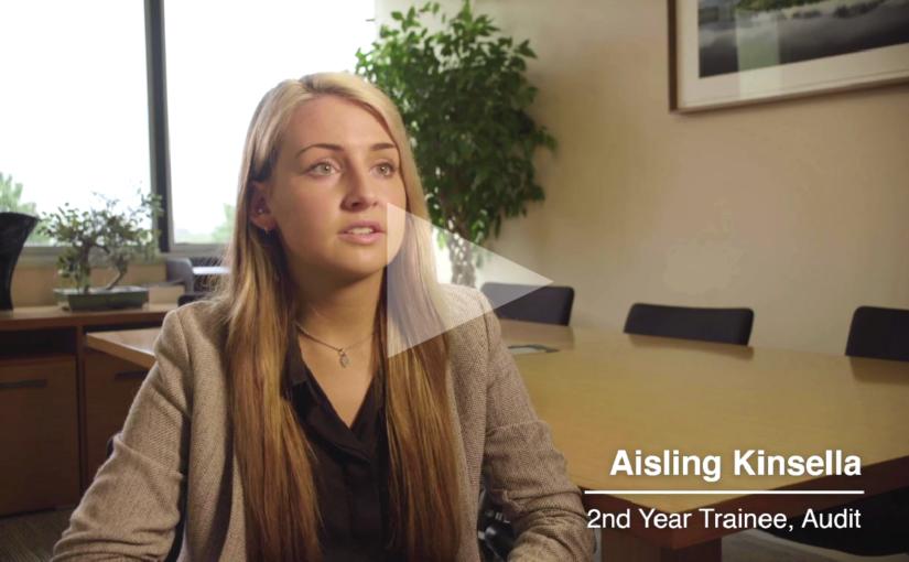 Aisling Kinsella Audit trainee - Crowe Ireland