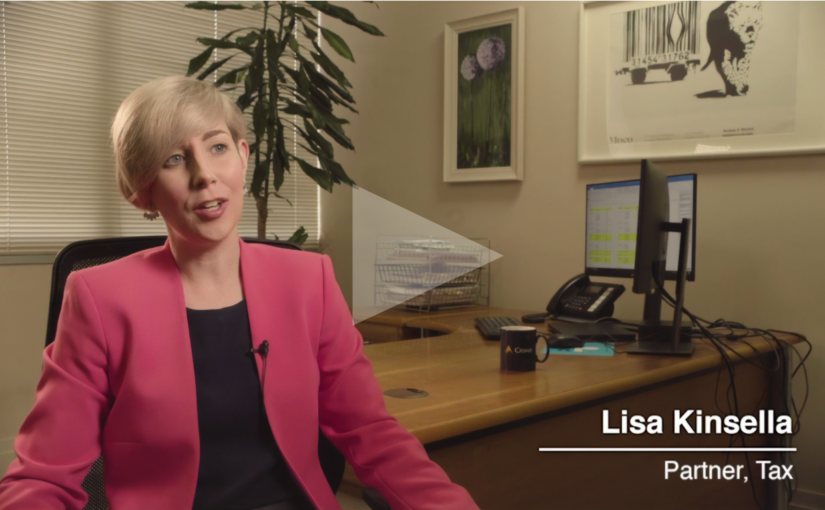 Tax partner Lisa Kinsella talks about working at Crowe Ireland