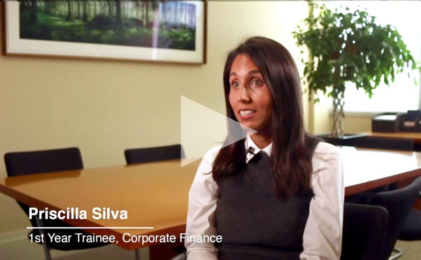 Interview with corporate finance trainee Priscila Silva - Crowe Ireland