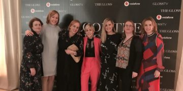 Crowe Ireland attends the Gloss Look the Business 2019 event