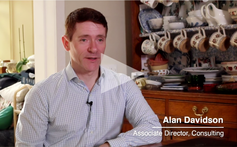 An interview Alan Davidson, associate director Crowe Ireland consulting department.