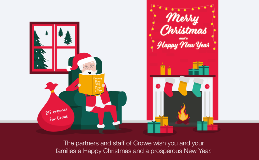Merry Christmas and Happy New Year from Crowe Ireland